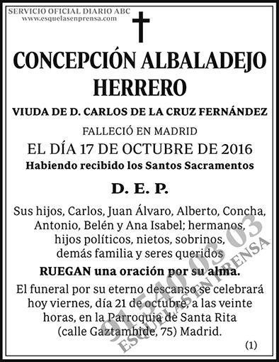 Concepción Albadalejo Herrero